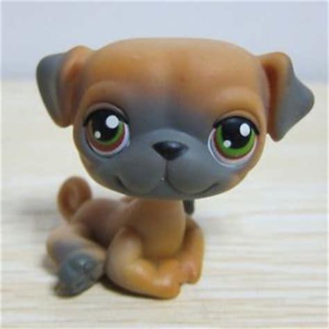 pug pet shop hasbro littlest pet shop collection lps figure brown pug ebay