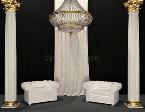 poltrone classiche di lusso poltrone di lusso classiche nell interiore reale immagine