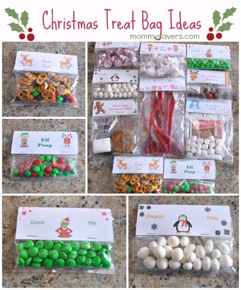 christmas treat bag ideas ten creative exles mommysavers