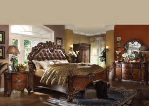 Vintage King Size Bedroom Sets Antique Traditional Forml Luxury King Size Bed Set