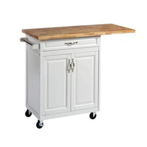 kitchen cart home depot 1 drawer laminate kitchen cart with large worktop in