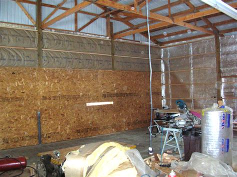 pole barn insulation yesterday s tractors
