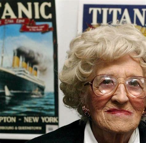 film titanic alte frau tod mit 97 jahren millvina dean j 252 ngste passagierin der