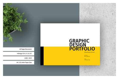 Warranty Card Template Graphics Designer by Graphic Design Portfolio Template In Brochure Templates On