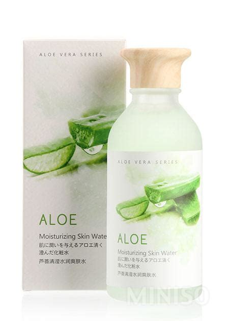 Toner Aloe Vera The Shop aloe vera moisturizing toner miniso australia