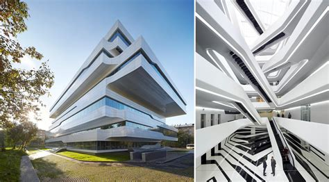 Interior Design For New Home by Dominion Office Building By Zaha Hadid Architects