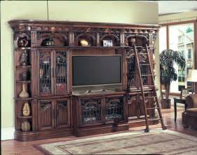Unfinished Oak Bookcase 7 Pc Parker House Barcelona 70 Quot Tv Entertainment Wall Unit