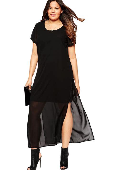 Big Maxi black chiffon overlay big maxi dress site title