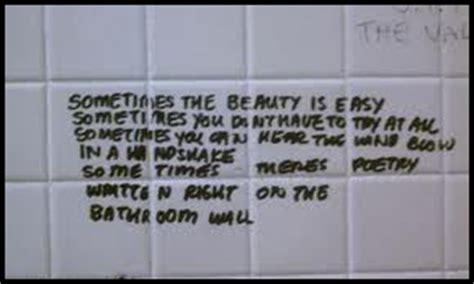 bathroom wall poetry poetry friday poetry is forgiving with elizabeth stevens