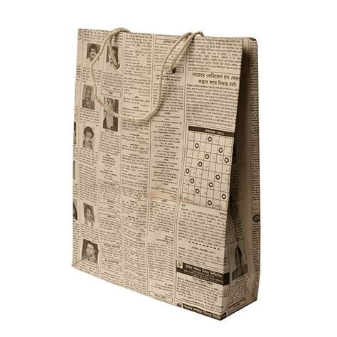Paper Bags From Newspaper - ethical and fairtrade gifts global seesaw social