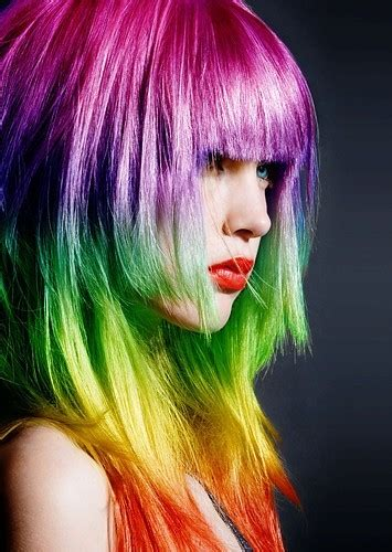 rainbow color hair ideas rainbow hair color rainbow hair color ideas