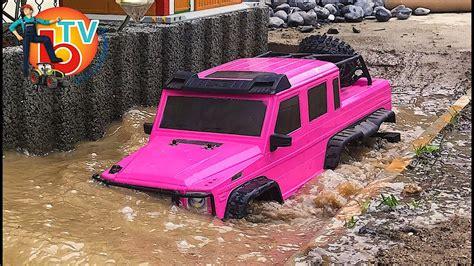 pink mercedes truck pink car rc truck mercedes 6x6 brudertv