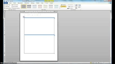 how to break word document into sections how to split a word document youtube