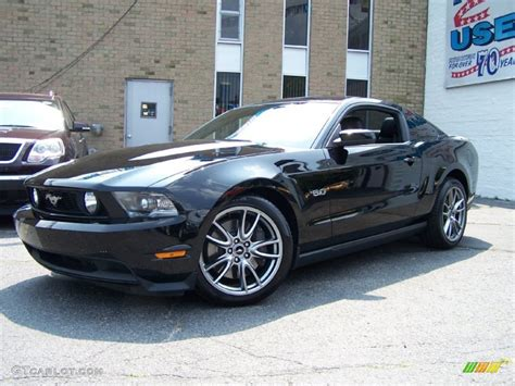 2011 ford mustang gt black black 2011 ford mustang gt premium coupe exterior