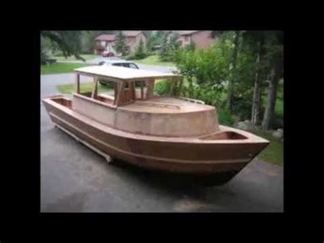 diy fishing boat kits boat building plywood wooden boat kits skiff youtube