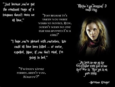 Hermoine Granger Quotes hermione granger quotes quotesgram