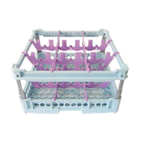 bicchieri quadrati cesto classico con 9 scomparti quadrati per bicchieri mod