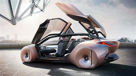 bmw research and development bmw s concept car is a shape shifting danger sensing
