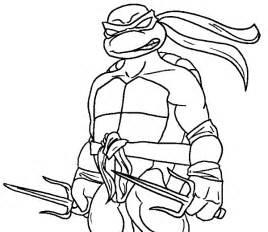 coloring books ninja turtles raphael print free download