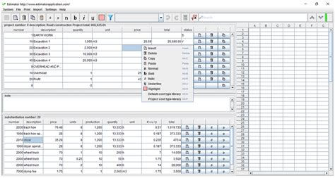 construction estimate 7 free construction estimating software products