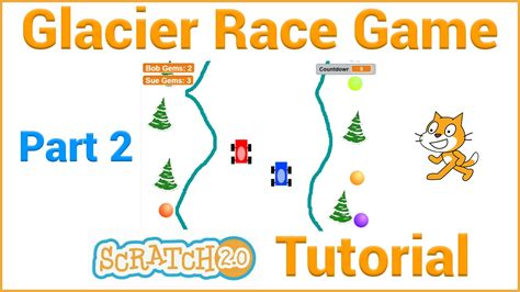 construct 2 racing game tutorial make a glacier race game in scratch part 2 4 youtube