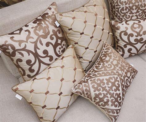 beige sofa with pillows sale european luxury embroidered beige headboard cushions