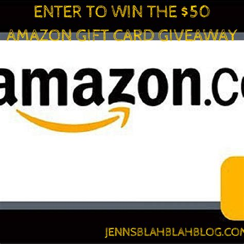 Enter To Win Gift Cards - enter to win the kinsights 50 amazon gift card giveaway jenns blah blah blog