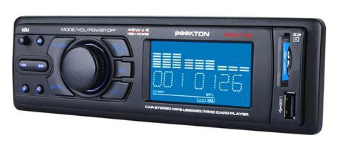 Radio De Voiture Avec Port Usb by Autoradio Peekton Pkm170 233 Galiseur Int 233 Gr Port Usb