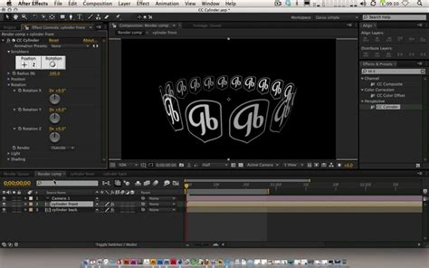 Using The Cc Cylinder Tool In After Effects Useful For Slot Machine Effects Etc Tutorials After Effects Slot Machine Template