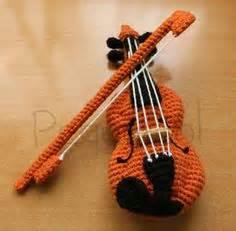 Amigurumi Violin Pattern | crochet musical instruments on pinterest amigurumi