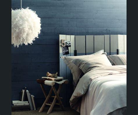 canapé bleu nuit peinture bleu nuit chambre