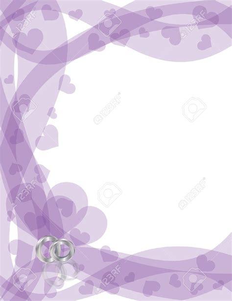 Wedding Background Border by Lavender Background Wedding Wedding Invitation Border