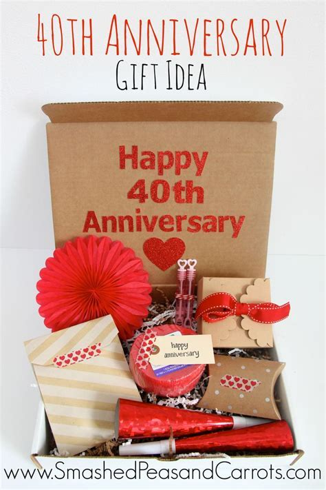 17 Best ideas about 40th Anniversary Gifts on Pinterest
