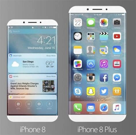 8 iphone vs 8 plus iphone 8 and galaxy s8 specs features expectations