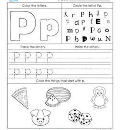 letter p worksheets alphabet worksheets letter worksheets for kindergarten 1433