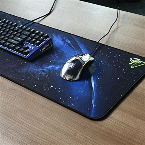 Extended Gaming Mousepad Horde 1 rantopad h1x nebula silky cloth extended gaming mouse pad keyboard pad with stitched edges 35