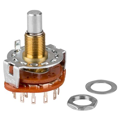 Rotary Switch by Rotary Switch 1 Pole 12 Position Shorting