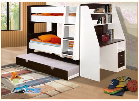 bunk bed and desk california single bunk beds with trundle bed and desk