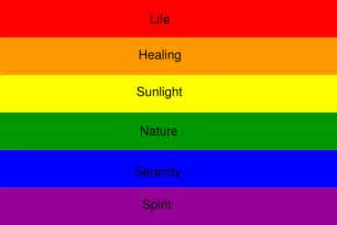 lgbt flag colors rainbow flag meaning clip at clker vector clip
