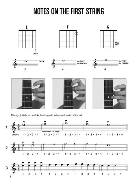 String Book Pdf - hal leonard guitar method book 1 andy s