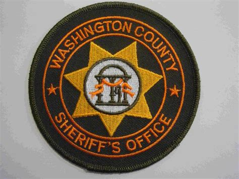 Washington County Sheriff S Office by Sheriff And Patches