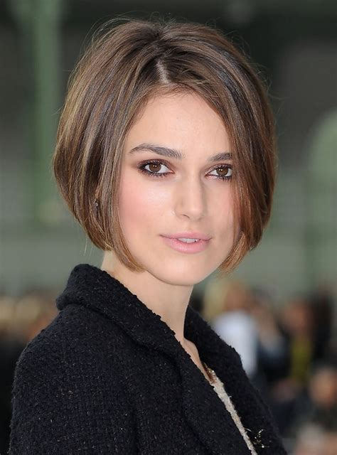 short bob hairstyles keira knightley keira knightley short stacked bob haircutm for women