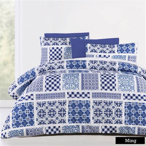 Printed Quilt Covers by Big Sleep Soft Feel Printed Quilt Doona Duvet Cover Set
