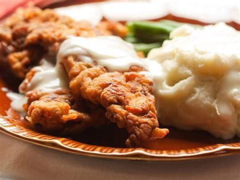 chicken comfort food emeril s chicken fried steak recipe cdkitchen com