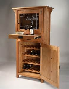 wine cabinet hardwood artisans handcrafted dining furniture