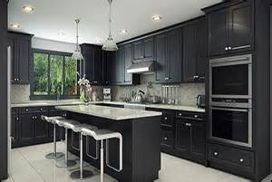 Black Shaker Kitchen Cabinets by Espresso Shaker Rta Kitchen Cabinets Domain