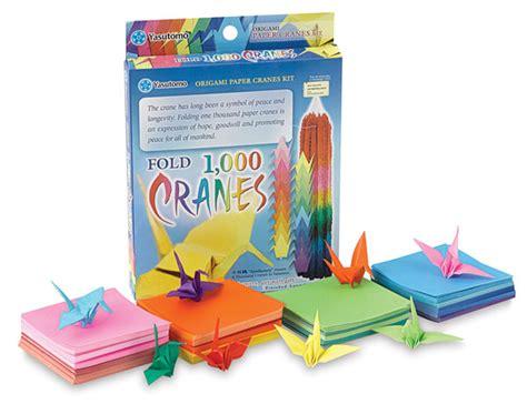 Origami Kit - yasutomo 1 000 cranes origami paper kit blick materials