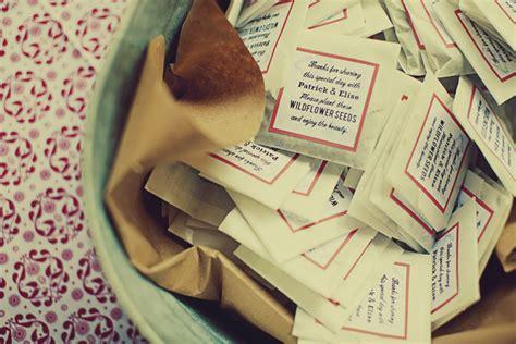 wildflower seeds wedding favor ideas elizabeth designs the wedding