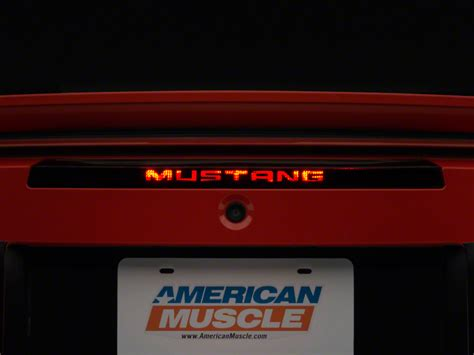 mustang 3rd brake light decal american muscle graphics mustang 3rd brake light decal