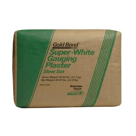 gold bond 50 lb set gauging plaster pl2120 the
